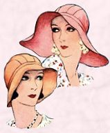 Hats early 1930s.
