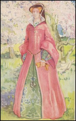 COSTUME QUEEN MARY GOWN - 1553-1558