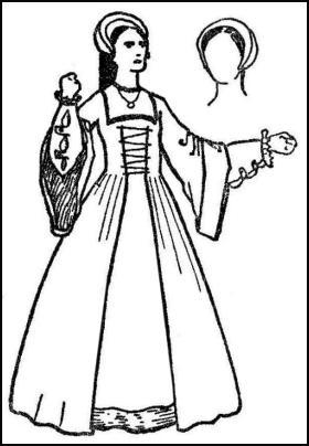 Anne Boleyn Style of Tudor Headress