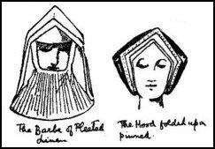 Early Tudor Costume - Womens Coifs