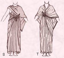 Ancient Egyptian Clothing Costume Dress Plates