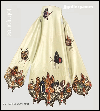 Butterfly Coat by John Jones
