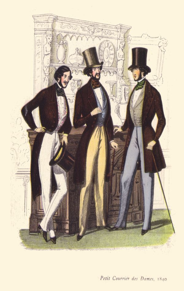 history of fashion 1800 1840 Home history news wires white papers and books 1800-1860: lifestyles, social trends, fashion, sports & recreation: overview.