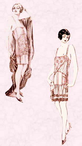 Clothing Designers Names 1920s To 1980s s underwear