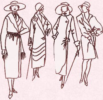1920s Flapper Fashion History. C20th Costume History for Women in ...