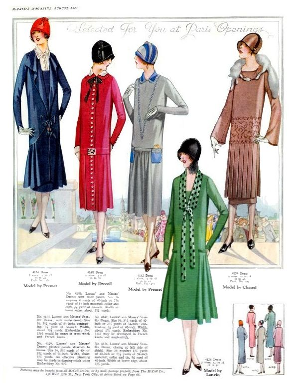 1920s women's fashion | Fashion Density