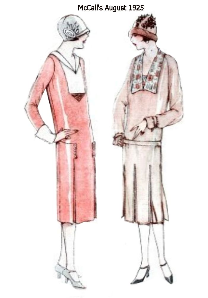 Part 2- McCall's Magazine August 1925 - Fashion History Images