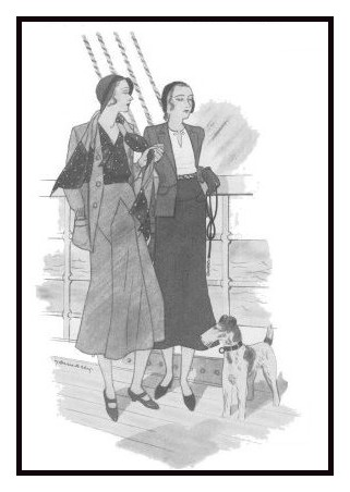 April 1930 - Good Housekeeping Fashion Images 3
