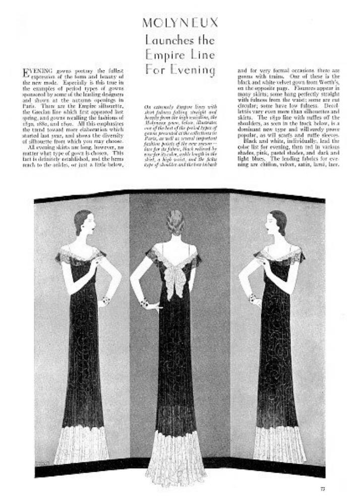1930s Fashion History Good Housekeeping Fashion Design Images Oct 1930 4