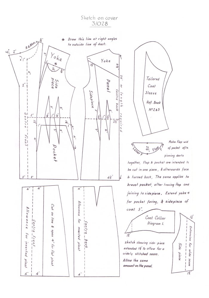 Pattern Drafting for Dressmaking | Free eBooks Download - EBOOKEE!
