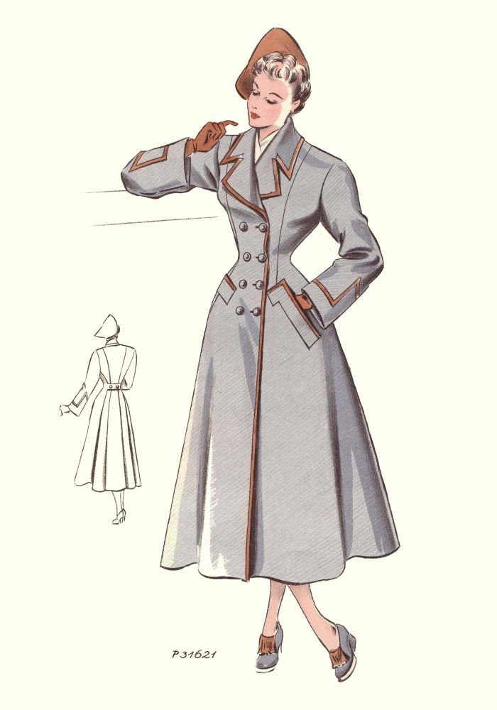 1940s women's fashion dress and style | Glamourdaze