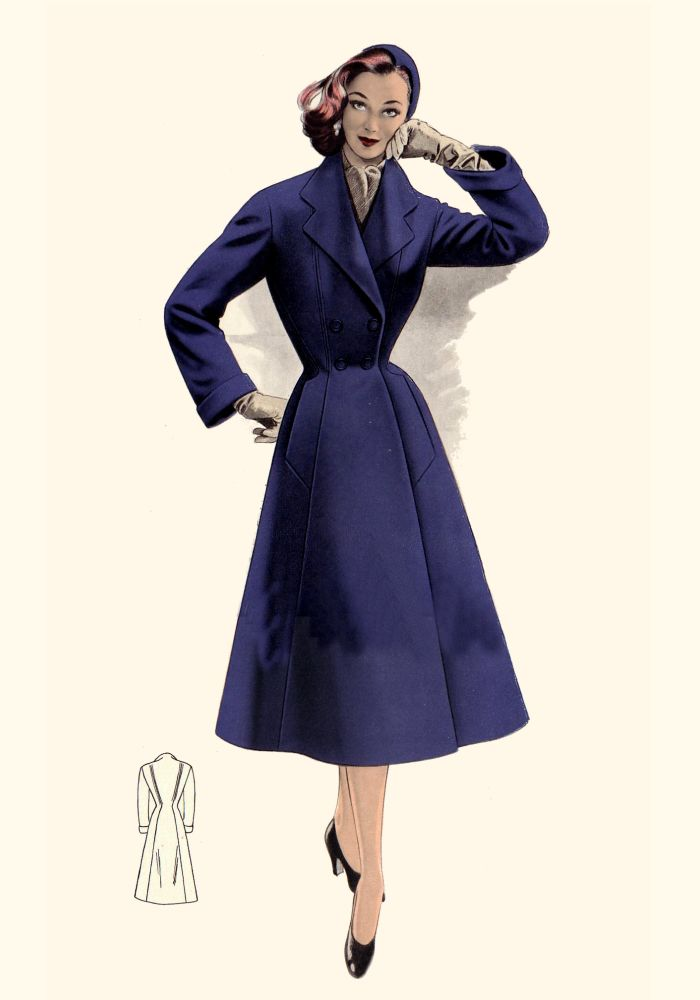 Pictures Of 1950s Coats And Costume Suits Fashion History 1955 Plates