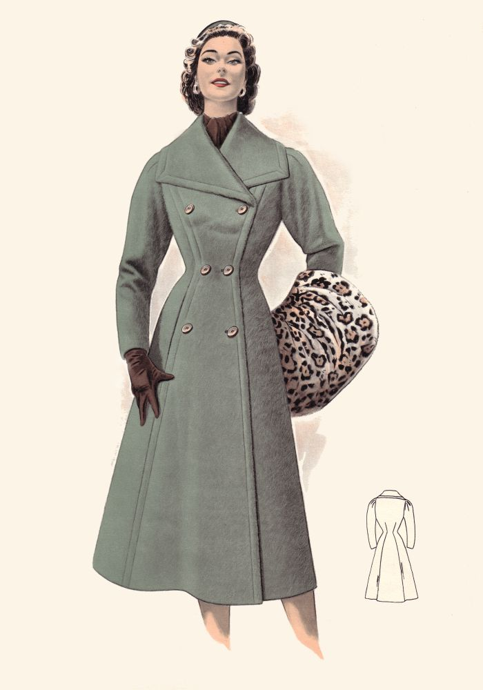 Pictures of 1950s Coats and Costume Suits