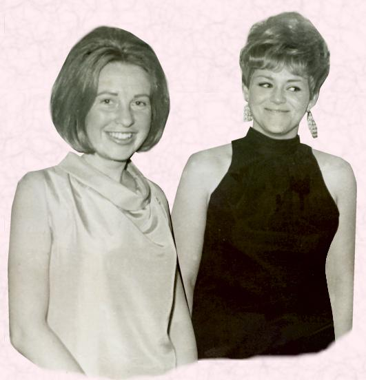 Fashion history and costume history of the 1960s picture of two women