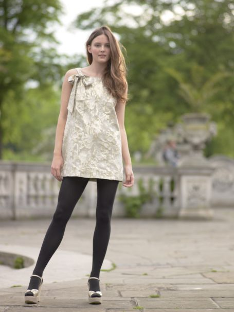 Young Women's Evening Fashion. Party Clothes Trends Autumn