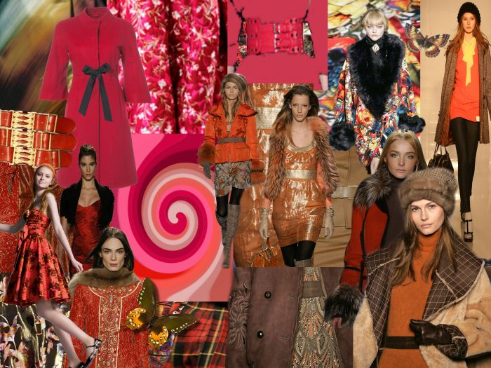 Trends Fashion Mood Boards. Colours, Tone Collages Autumn ...