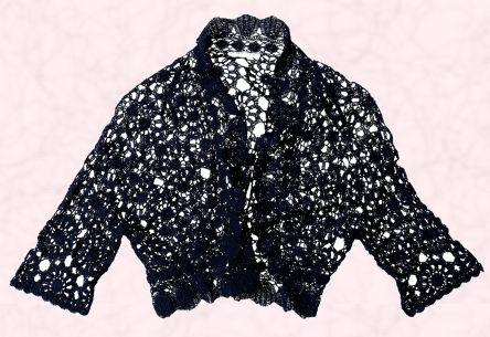 Lace Kimono Knitting Pattern : LACE CROCHET CARDIGAN PATTERN CROCHET PATTERNS