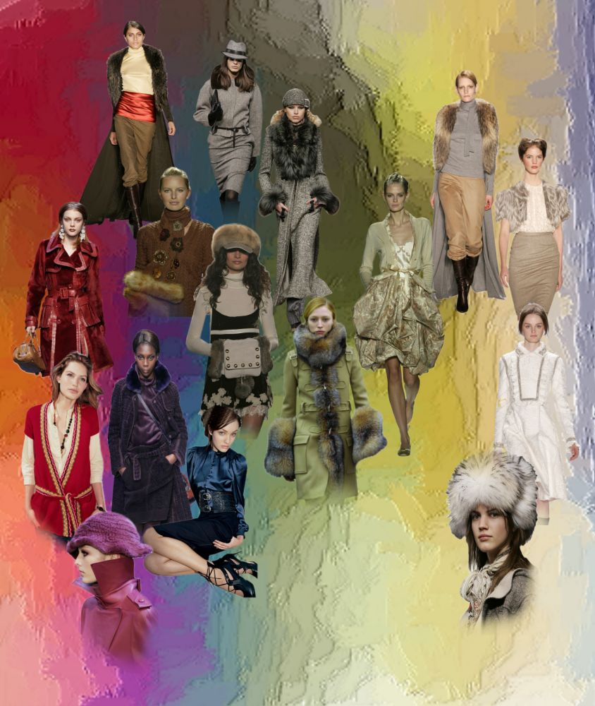 Colour Fashion Trends, Autumn 2005 And Winter 2006
