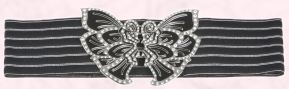 Decorative butterfly belt from River Island Clothing. It is just �19.99.
