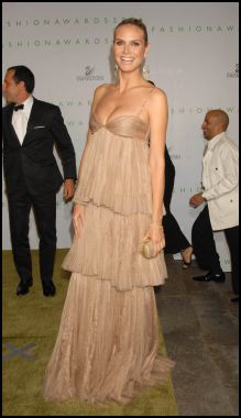Heidi Klum at Swarovski Fashion Awards