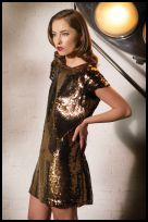 Marks and Spencer sequin tunic dress AW2007