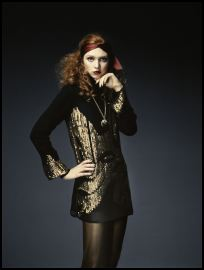 Phase Eight Autumn/Winter 2007 - Embellished tunic �90, shell pendant �20.