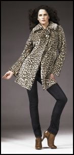 Animal trends -  Faux Fur Coat �69 Autumn Winter 2008 - Womenswear BHS