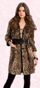 Animal trends - Autumn/Winter 2008 range, Miss Selfridge Leopard print coat �80/�100.