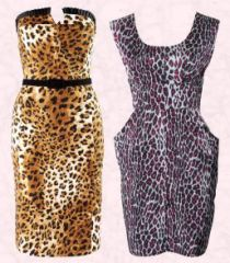 Leopard Print Maxi Dress on Animal Prints In Autumn 200 Fashion  Animal Print Dresses From
