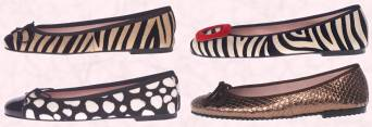 Prettyballerinas.com - Autumn 2008 Animal print ballerina flats