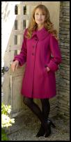 Country Casuals Magenta Coat - 2008 Fashion History.