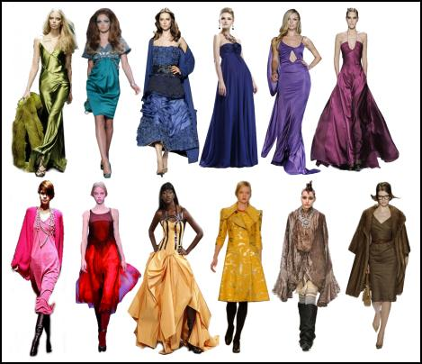 Latest Colours in Fashion for Autumn 2008 | Clothing colour