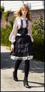 Warehouse - Blouse �45/�70, Skirt �35/�55, Lace Insert Skirt �35/�55, Belt �35/�55.