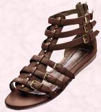 Shoe 1 - - Red Herring Gladiator Sandal - £25 - Debenhams Spring/Summer 2008