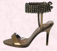 Accessory Shoe 2 - TRIBE Range - Stud ankle strap style Lante £60 - Faith Footwear.