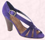 Shoe 23 - Purple shoe £44.99/ €75.50 River Island Clothing Co. Ltd., Summer Footwear 2008