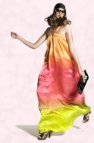 Top fashion trend 2008 is tie dye. Ombre dip dyed maxi dress - Spring Summer 2008 Collections from New Look