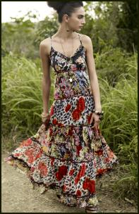 Womenswear Spring/Summer 2008 - Red Herring chiffon maxi dress £40/€62 on fashion-era