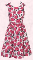 Oasis Poppy Parker Jones floral rose print dress on fashion-era summer 2008 trends pages