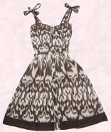 Tribal print sundress �13.00, Penneys Summer 2008 Collection.