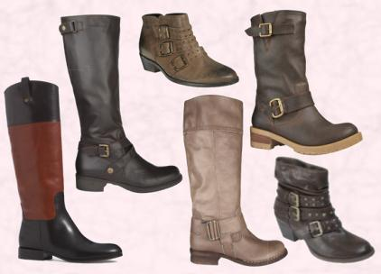 Fashion in Women's Shoes - Trends for 2009 in ladies boots