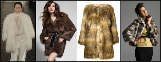 Lauren white Tibetan lamb fur coat. Debenhams Autumn/Winter 2009 Womenswear Star by Julien Macdonald Chinchilla Long Faux Fur Coat �70/�109. Wallis Autumn Winter 09 - Fur Jacket, �75/�86, Lime shell top, �40/�46.