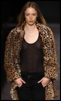 Isabel Marant animal fur coat.