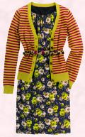 A creative look from the Boden Autumn 2009 collection.