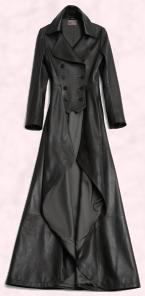Hobbs Long Leather Trench 'Emma' Coat at �699 -  Hobbs Autumn 2009 Limited Edition Collection.