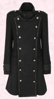 Military Coat Fashion - Double breasted coat -  Per Una Nikita Coat �120.00.