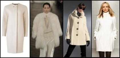 fashion-era -  Cream coats of Autumn 2009, Winter 2010.