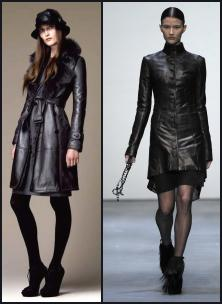 Burberry leather coat, Todd Lynn - Stylish, but fierce fitted leather coat