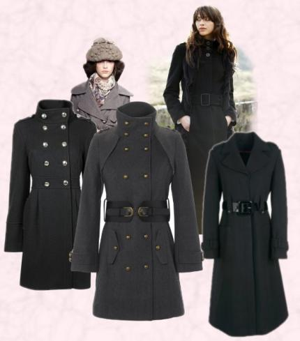 Women&39s Military Coat Fashon Autumn Winter 2009