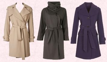 Louche at JOY Camel Coat - �120. Max Mara Coat from Harvey Nichols.   Matalan AW09 Womenswear Papaya Cashmere Blend Coat �50.